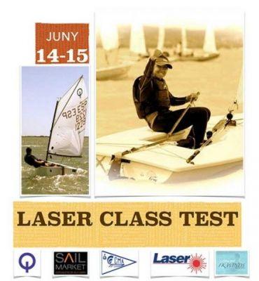 """""""Laser Class Test"""". Vine a provar el vaixell de vela lleugera més popular del món"""